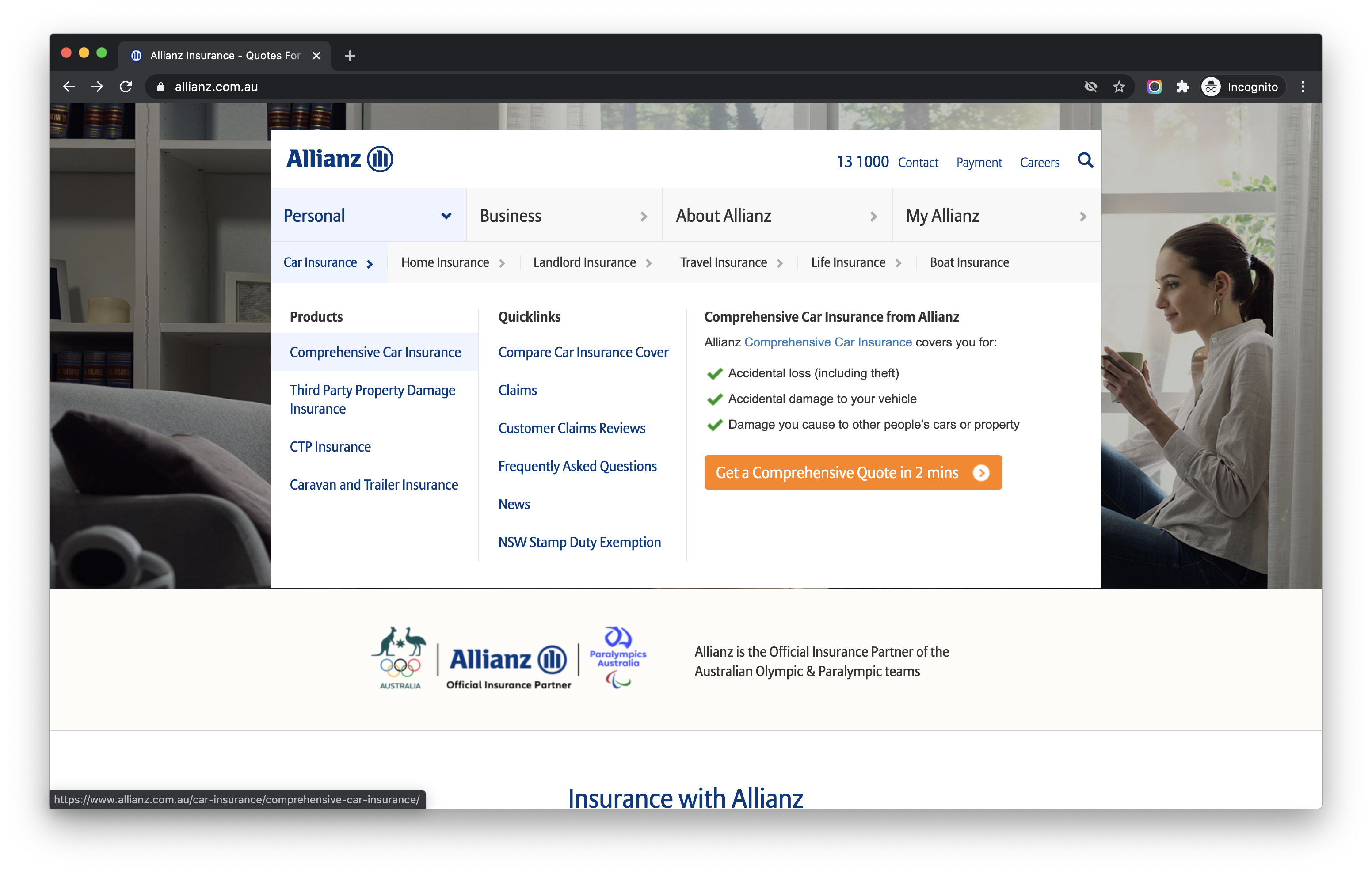 allianz-screenshot