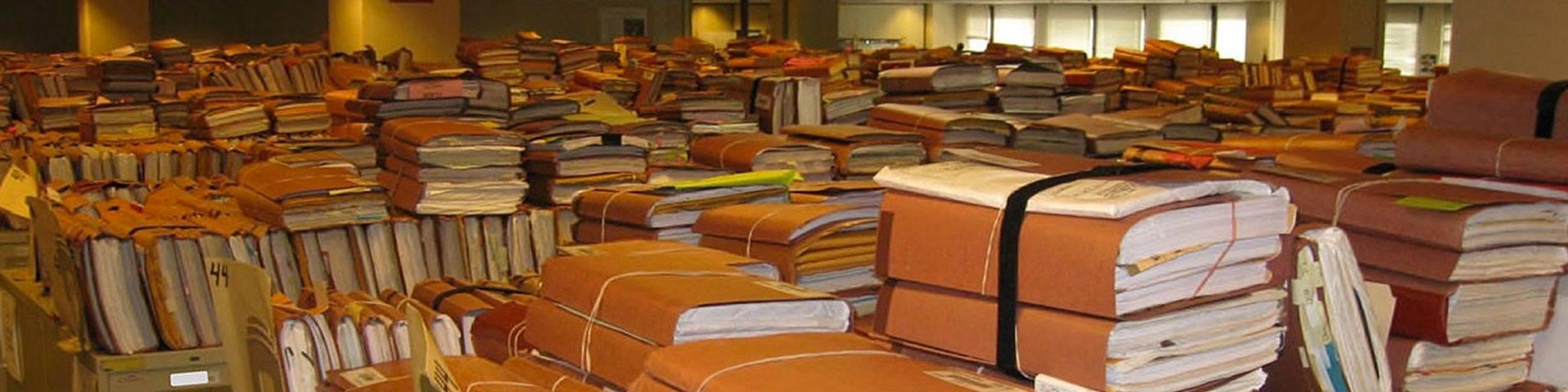 backlog of paperwork