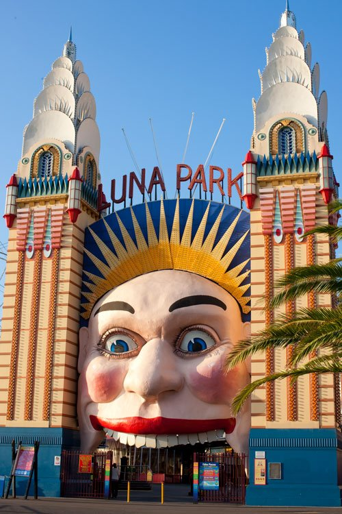 Luna Park entrance