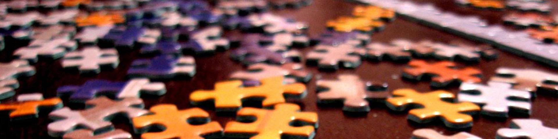puzzle pieces as a loose metaphor for roadmap
